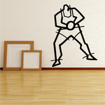 Basketball Wall Decal - Vinyl Decal - Car Decal - Bl048