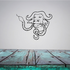 Bison and Snake Decal