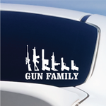 Gun Family Decal
