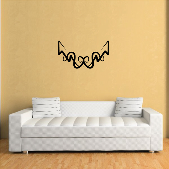 Tribal Pinstripe Wall Decal - Vinyl Decal - Car Decal - 313