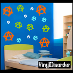 Anarchy Wall Decals Kit