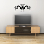 Tribal Pinstripe Wall Decal - Vinyl Decal - Car Decal - 317