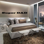 Super DAD Wall Decal