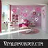 Outlined Hearts Wall Decals Kit