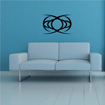 Tribal Pinstripe Wall Decal - Vinyl Decal - Car Decal - 321