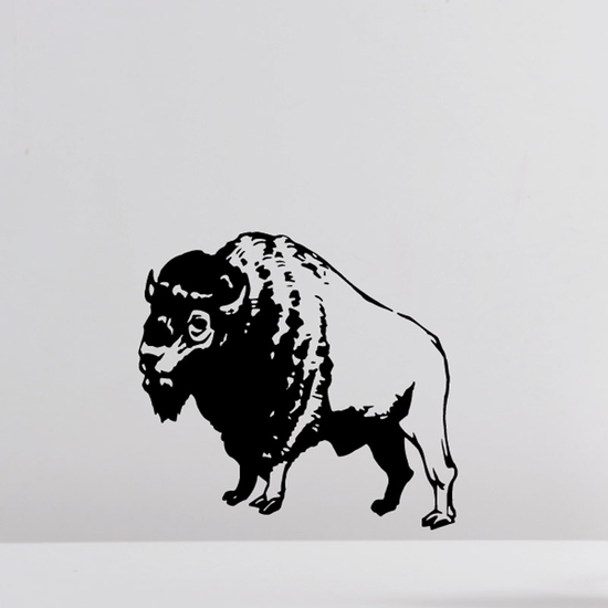 Bold Bison Decal
