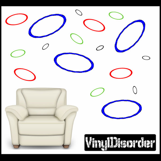 Ring Wall Decals Kit