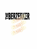 The berzerker Decal
