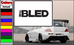The Bled Band Decal