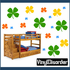 Four Leaf Clover Wall Decals Kit