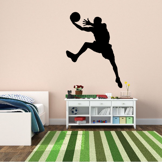 Basketball Pull Up Jumper Player Decal