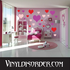 Hearts Wall Decals Kit