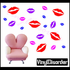 Lips Wall Decals Kit