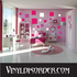 Square Wall Decals Kit