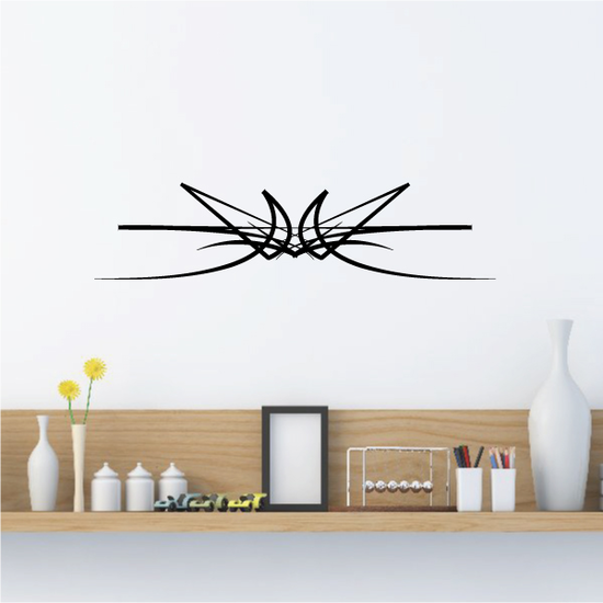 Tribal Pinstripe Wall Decal - Vinyl Decal - Car Decal - 332