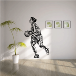 Basketball Wall Decal - Vinyl Decal - Car Decal - CDS009