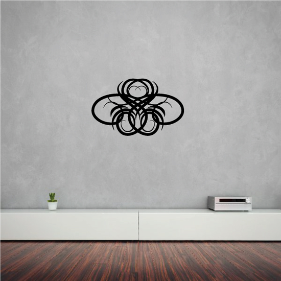Tribal Pinstripe Wall Decal - Vinyl Decal - Car Decal - 333