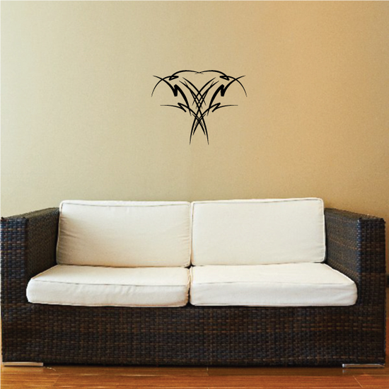 Tribal Pinstripe Wall Decal - Vinyl Decal - Car Decal - 334