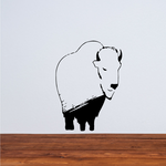Calm Bison Decal
