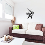 Tribal Pinstripe Wall Decal - Vinyl Decal - Car Decal - 335