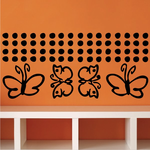 Butterfly Wall Decals Kit
