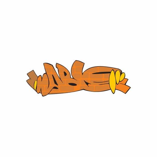 Mable Graffiti Sticker