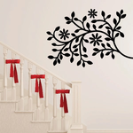 Tree Branch with Flower Wall Decals Kit