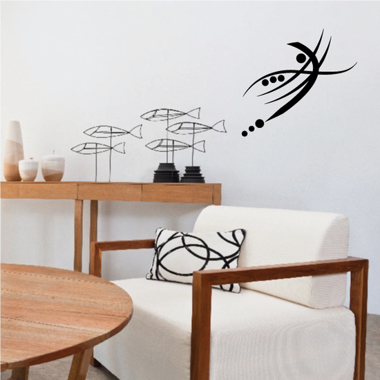 Tribal Pinstripe Wall Decal - Vinyl Decal - Car Decal - 337
