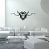 Tribal Pinstripe Wall Decal - Vinyl Decal - Car Decal - 338