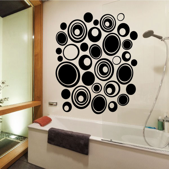 Pebbles Wall Decals Kit