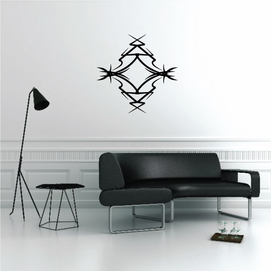 Tribal Pinstripe Wall Decal - Vinyl Decal - Car Decal - 341