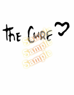 The Cure HEART Decal