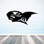 Winged Bison Decal