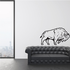 Stomping Bison Decal