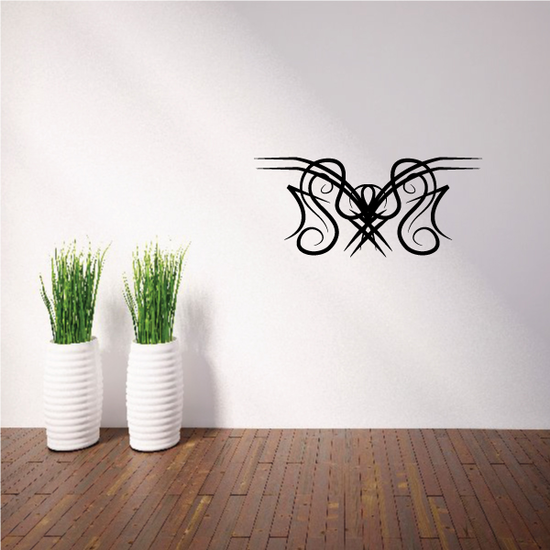Tribal Pinstripe Wall Decal - Vinyl Decal - Car Decal - 351