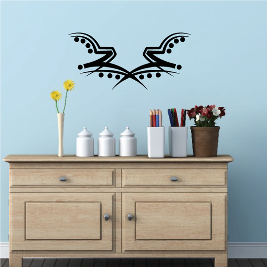 Tribal Pinstripe Wall Decal - Vinyl Decal - Car Decal - 355