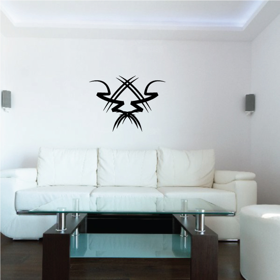 Tribal Pinstripe Wall Decal - Vinyl Decal - Car Decal - 356