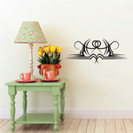 Tribal Pinstripe Wall Decal - Vinyl Decal - Car Decal - 359