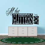All that glitters is Snow Decal