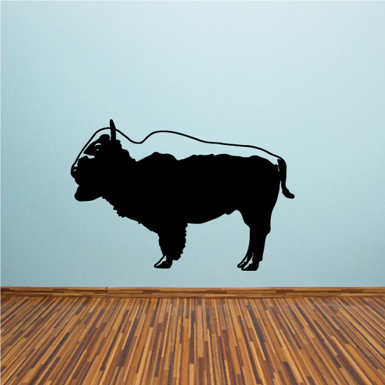 Proud Bison Buffalo Decal