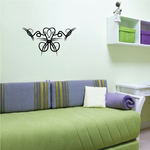 Tribal Pinstripe Wall Decal - Vinyl Decal - Car Decal - 366