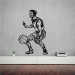 Basketball Wall Decal - Vinyl Decal - Car Decal - CDS060