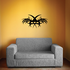 Tribal Pinstripe Wall Decal - Vinyl Decal - Car Decal - 376