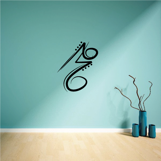 Tribal Pinstripe Wall Decal - Vinyl Decal - Car Decal - 381