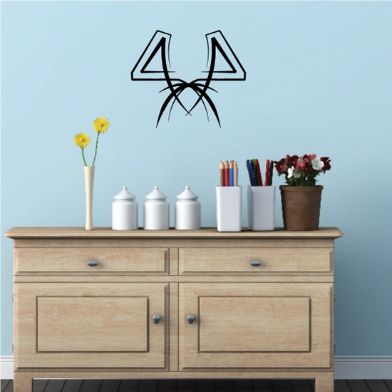 Tribal Pinstripe Wall Decal - Vinyl Decal - Car Decal - 383