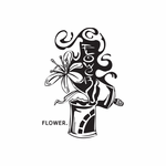 Flower Growing from Spray Paint Can Decal