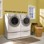 Soak wash rinse dry fluff fold Wall Decal