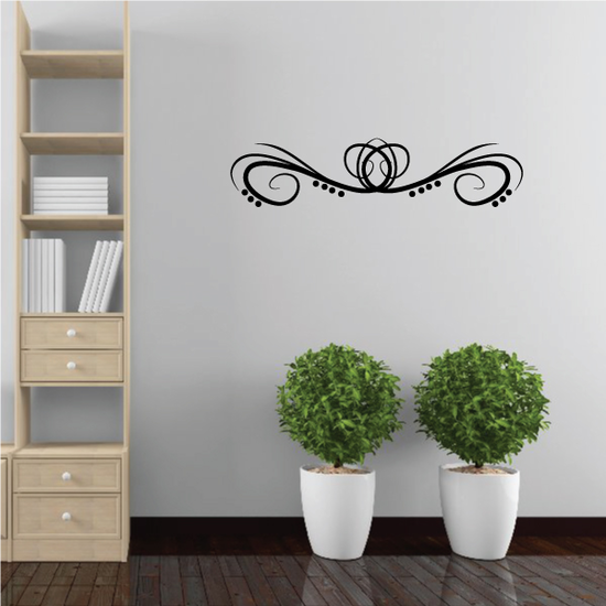 Tribal Pinstripe Wall Decal - Vinyl Decal - Car Decal - 390