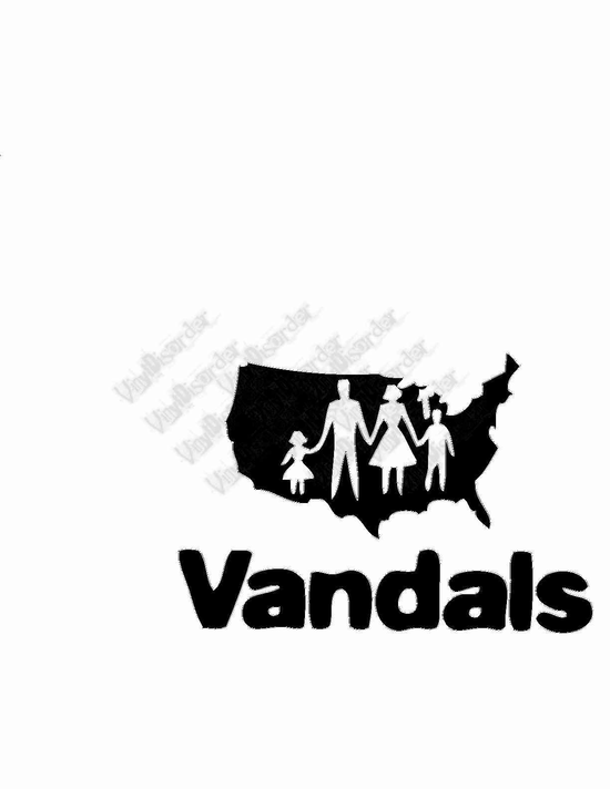 the Vandals world Decal