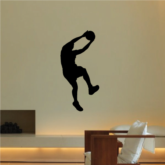 Lay Up Basketball Wall Decal - Vinyl Decal - Car Decal - 012
